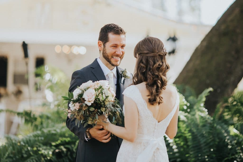 5 reasons why you should do a first look on your wedding day if our first look had been in front of everyone he might have tried to hold it in junglespirit Images