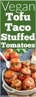 Vegan Stuffed Tomatoes
