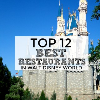 Best Restaurants in Walt Disney World