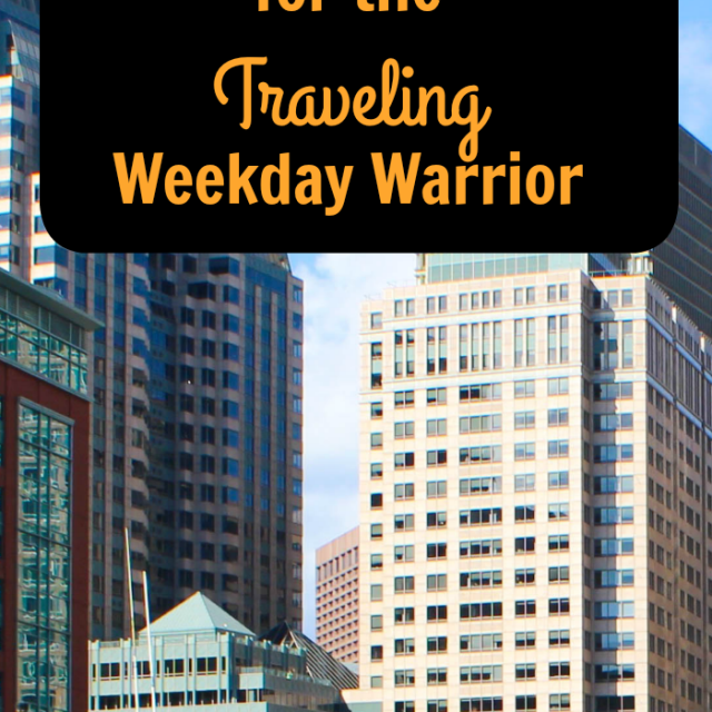 8 Healthy Living Tips for the Traveling Weekday Warrior