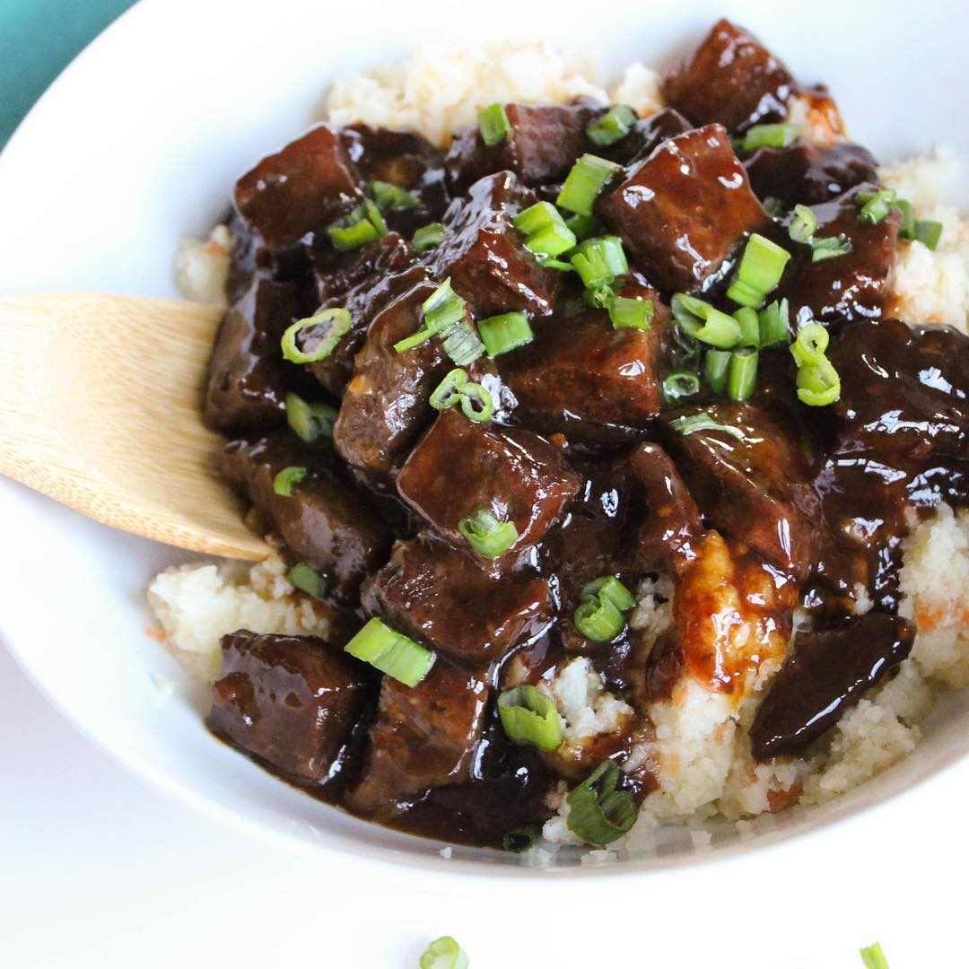 Slow Cooker Low Sugar Mongolian Beef