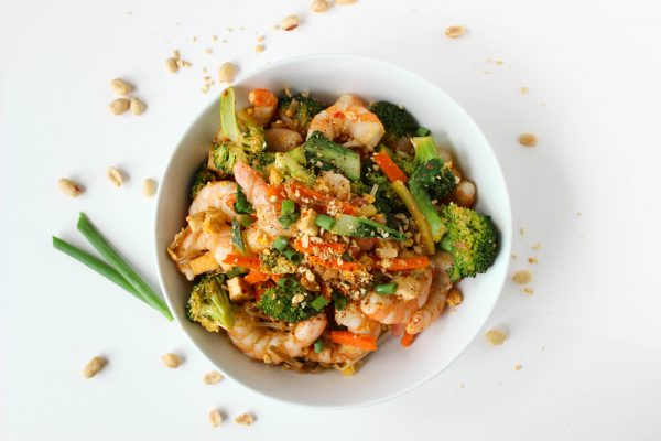 Low Sugar Pad Thai | by Stacey Mattinson, MS, RDN, LD