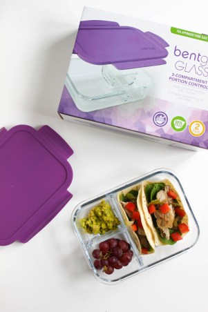 Healthy Lunch: Bentgo Glass | Stacey Mattinson, MS, RDN, LD