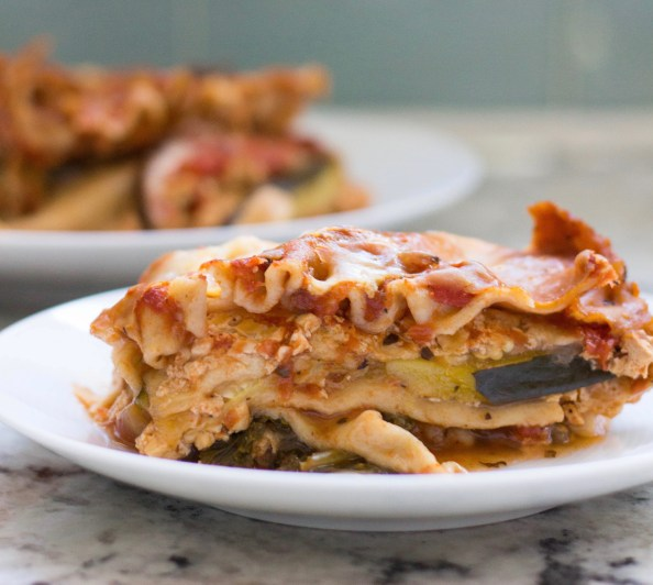 High Protein Vegetarian Lasagna Crock Pot Recipe