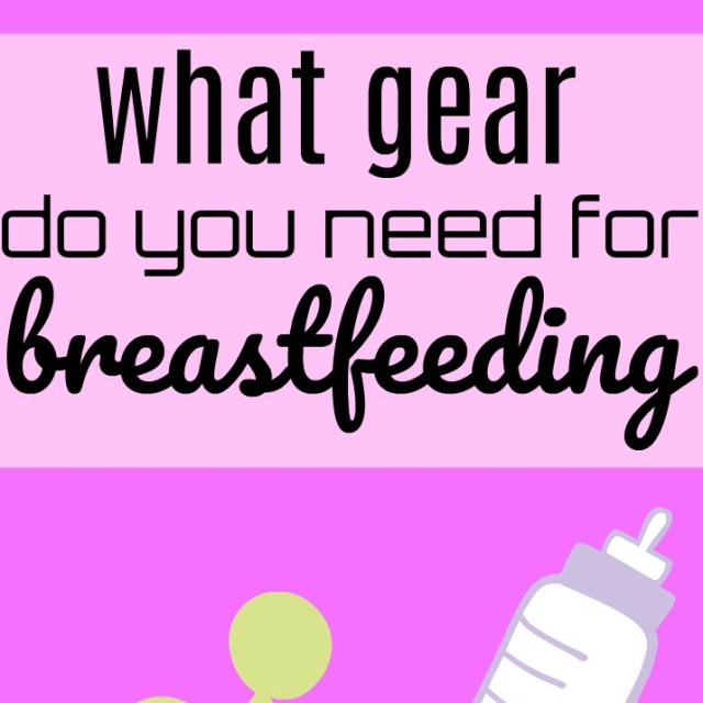 My (Bad) Experience Breastfeeding & Breastfeeding Essentials for New Moms