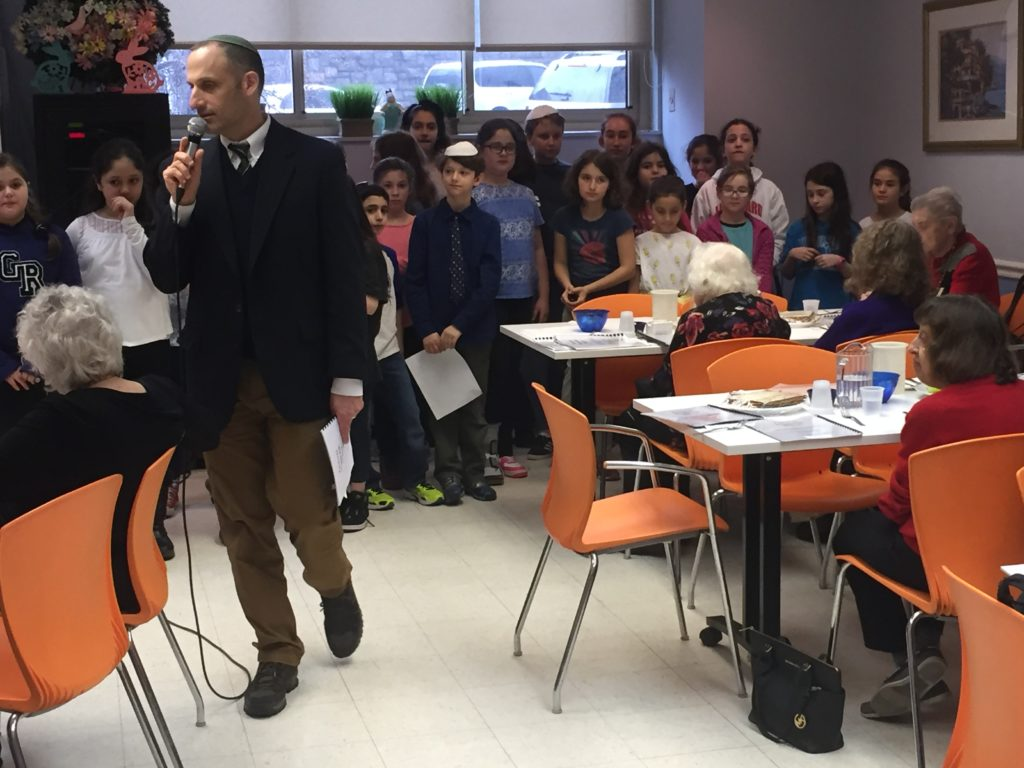 Passover Model Seder WIth Kinneret Day School