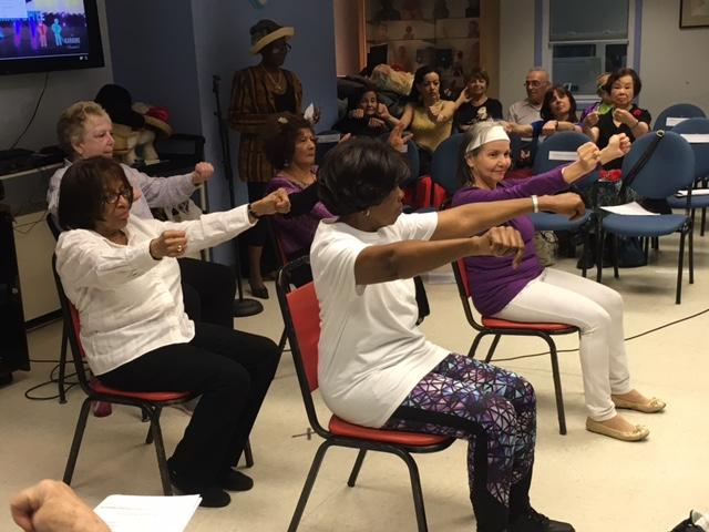 Talent Show at Riverdale Senior Services