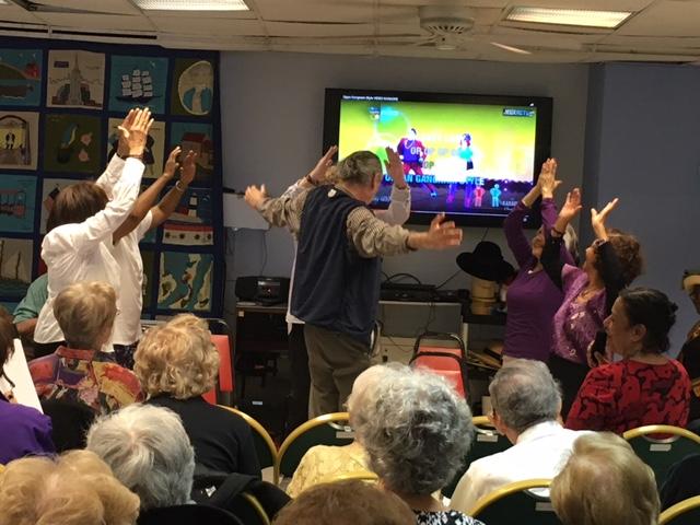 Talens SHow at Riverdale Senior Services