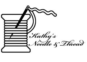 Kathy's Needle & Thread Logo