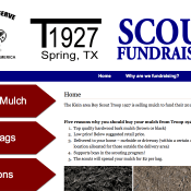 1927 Scout Fundraising Website