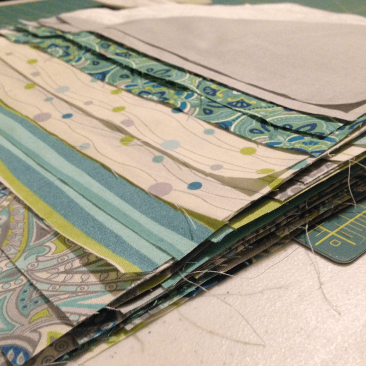 Lots of pressing when you quilt. Wash, rinse, repeat. - Quilting Progress at Stacey Sansom Designs