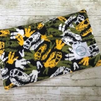Ice Pack Cover - Dinosaur Skeleton - 6x8
