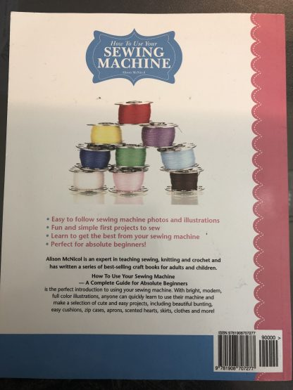 Selected Textbook | Sewing Machine Crash Course | Stacey Sansom Designs
