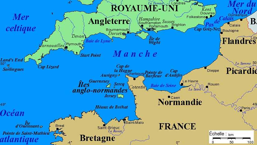 The French don't call it the English Channel