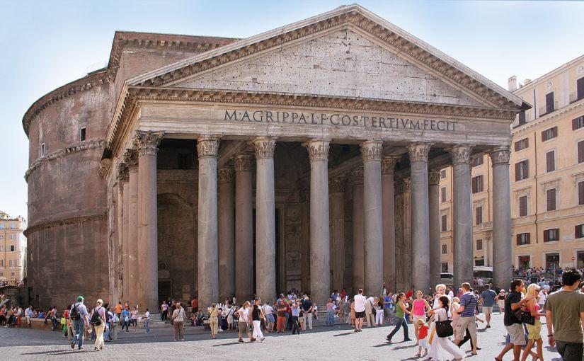 The oldest Roman building