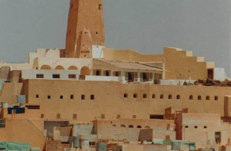 Photo: The mosque in Ghardaia, Algeria