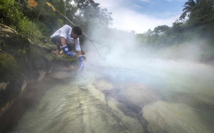 Peru's Boiling River is the world's longest thermal river