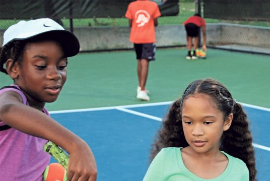 Tennis not just for posh tourists in Anguilla