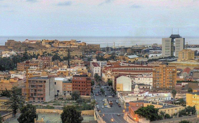 Spain still controls parts of continental Africa