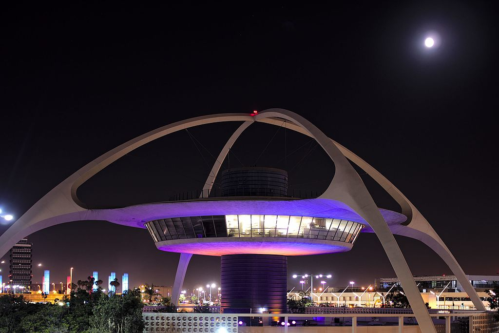 The Theme Building at LAX
