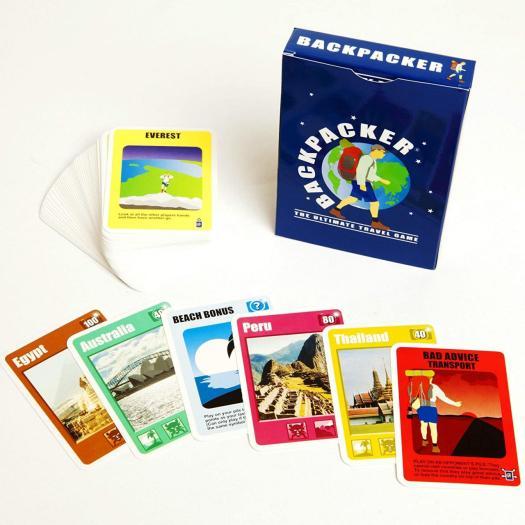 Backpacker card game