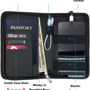 phone-charging passport holder