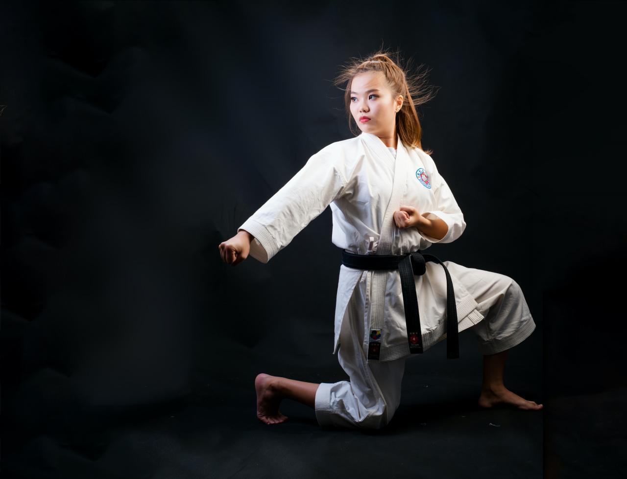woman judo