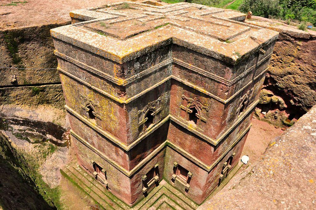 Lalibela church Ethiopia