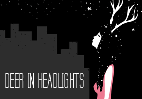 flash giveaway! Get a free autographed copy of Deer in Headlights
