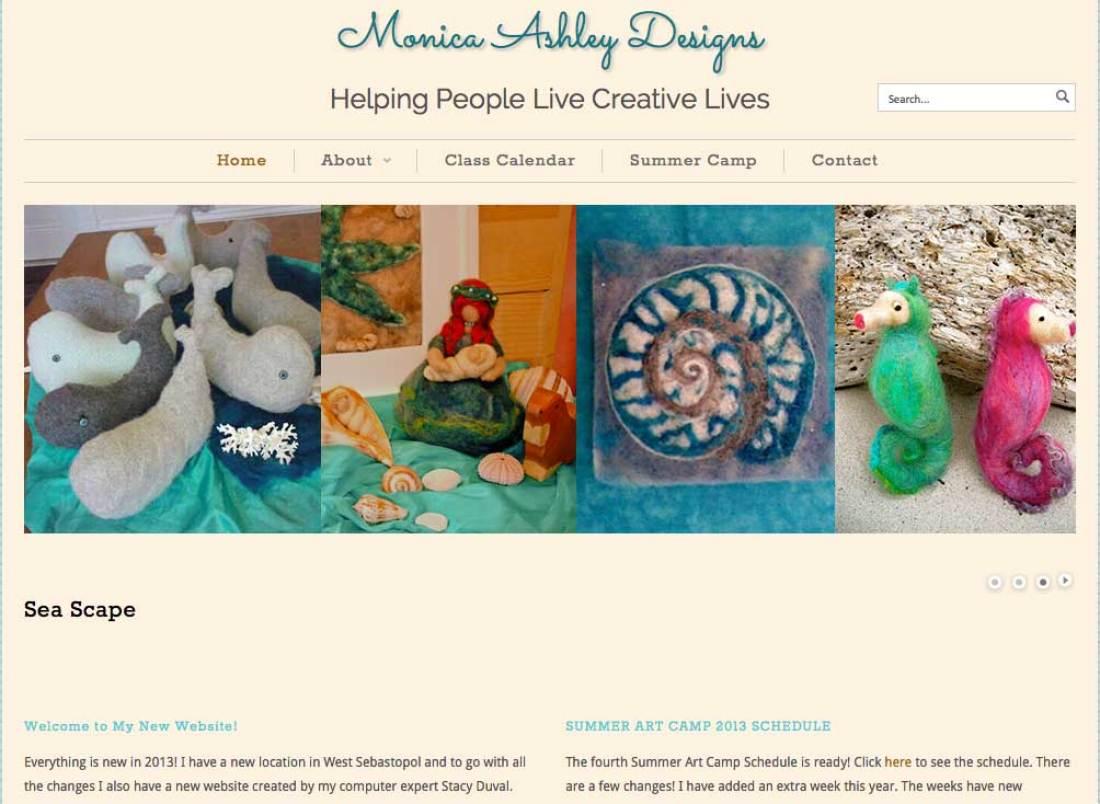 monica ashley designs home page