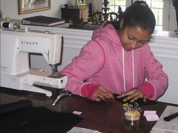 sarah-sewing