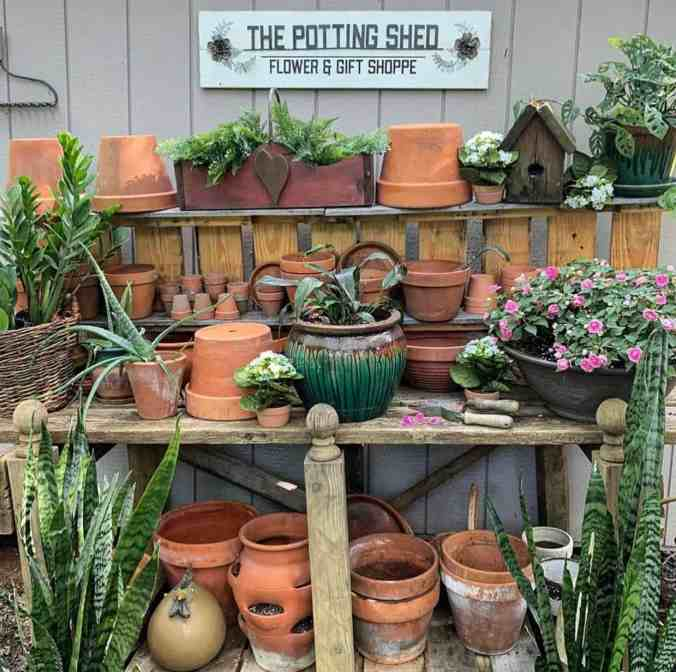 Potting Bench Idea