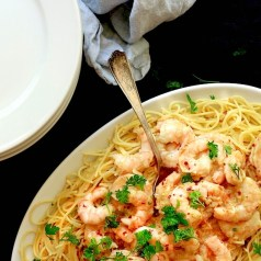 Garlicky Shrimp Scampi has very few ingredients so every ingredient needs to be as impressive as possible.