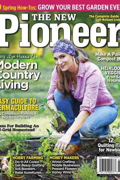 Stacy Lyn Harris featured on the cover of new pioneer magazine
