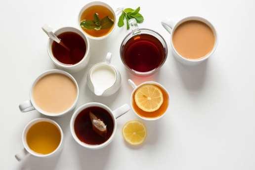lemon water tea
