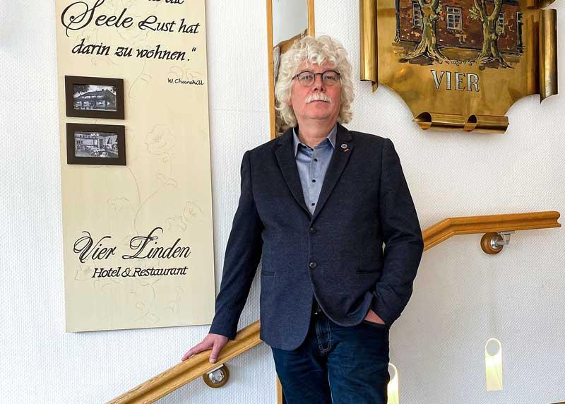 """Lutz Feldtmann (Hotel & Restaurant """"Vier Linden"""")"""