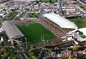 Image result for old lansdowne road stadium