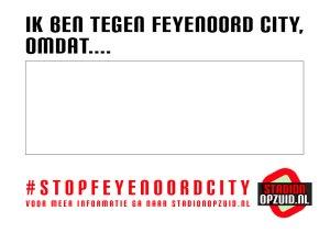 #stopfeyenoordcity - Stadionopzuid.nl