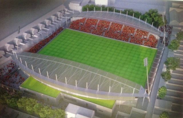 Proposal Released For Dalymount Park Redevelopment By 2020