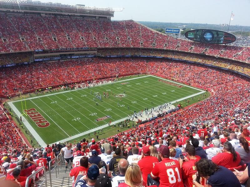 Arrowhead Stadium Kansas City Chiefs Football Stadium