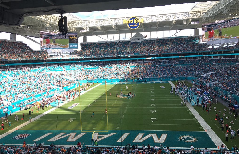 Image result for hard rock stadium