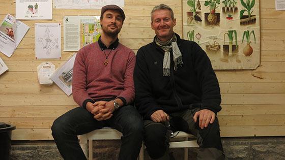 Anton NCC och Niklas.