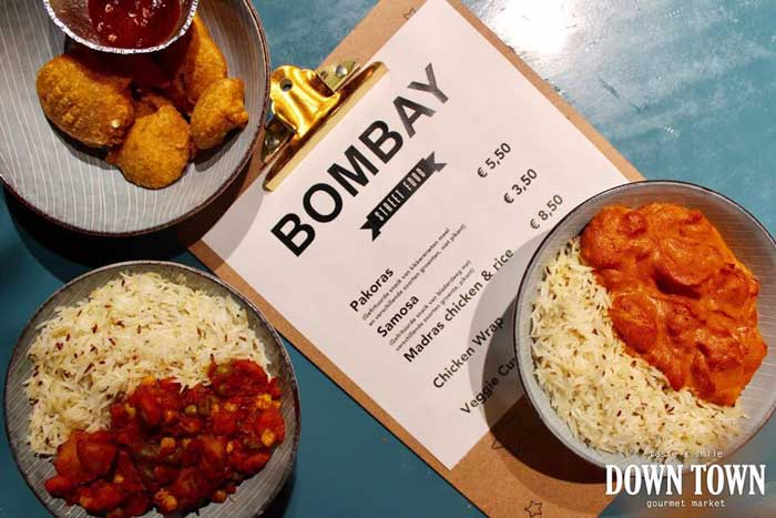 bombay streetfood down town gourmet market