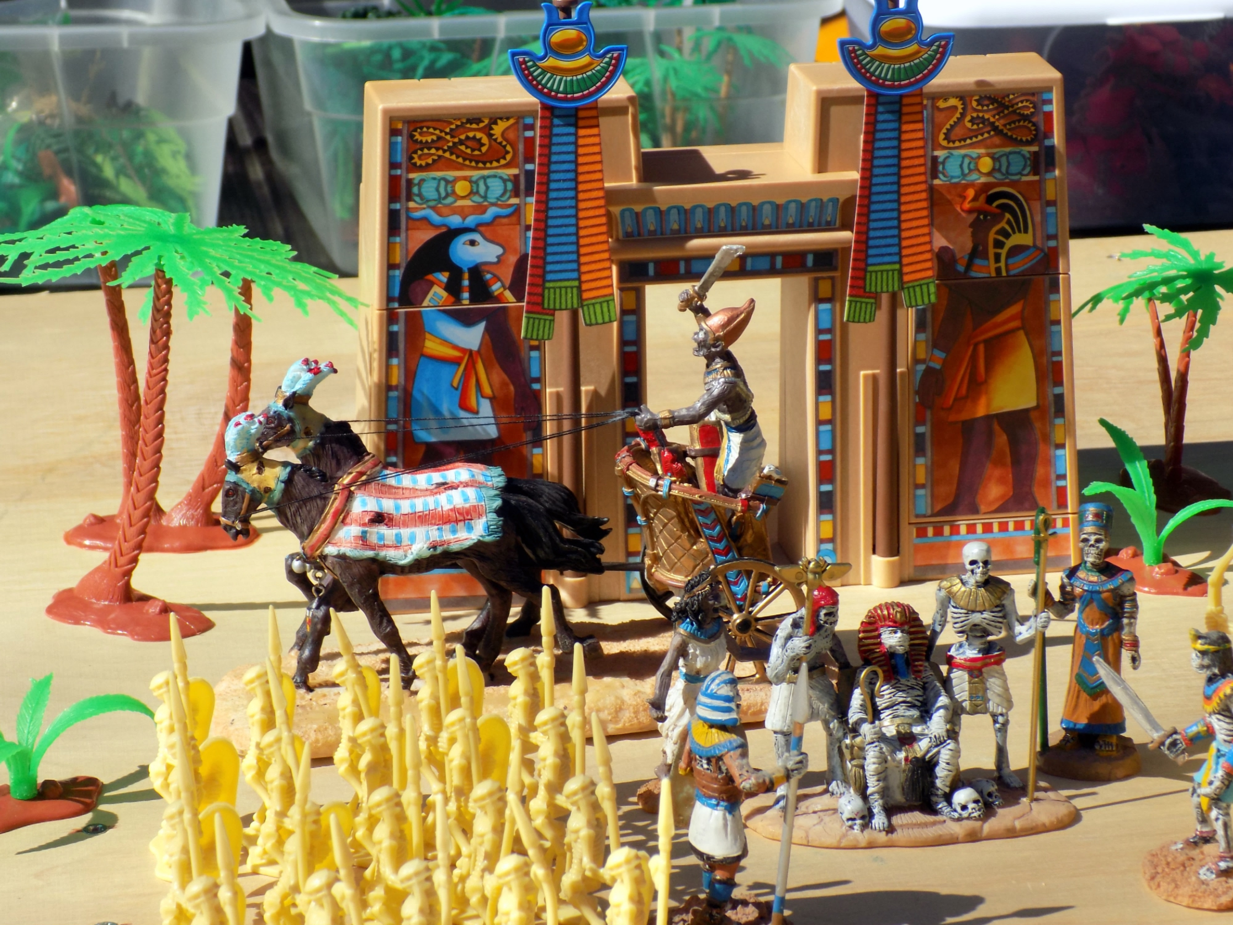 Playmobil another great source for accessories stad 39 s - Playmobil egyptien ...