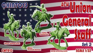 Chintoy Future Release Mounted Civil War General Staff