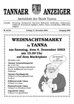 Anzeiger November 2003