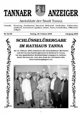 Amtsblatt Februar 2005