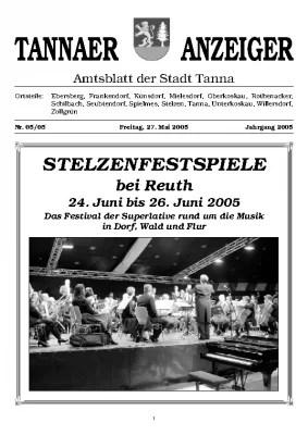 Amtsblatt Mai 2005