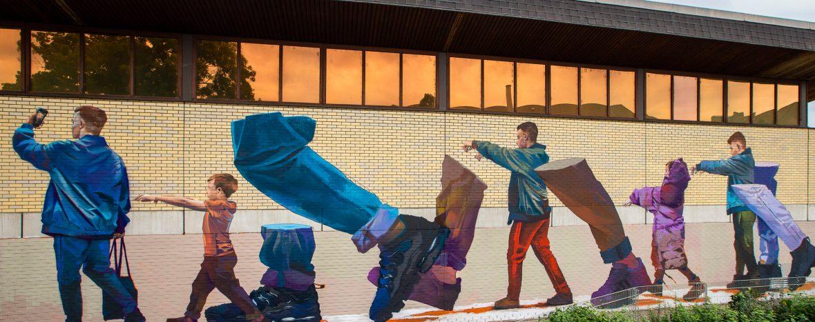 Neues Mural von CASE MACLAIM PIED PIPER