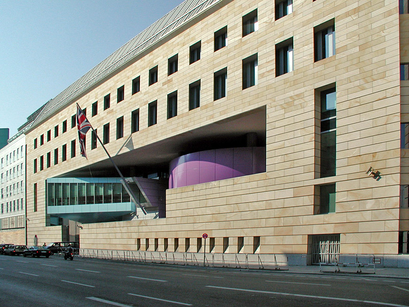 Image result for British Embassy Berlin